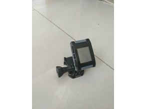 Pebble GoPro mount
