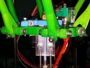 Laser Cut Transparent Clear Hotend 1.75mm Rev1.0