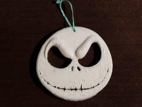 Jack Skellington Head Ornament