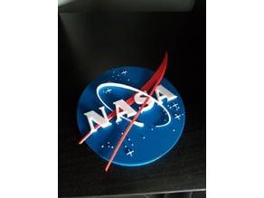 Badge NASA 150x19 mm