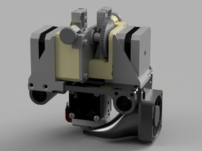 Anet A6 Dual Direct Extruder Carriage