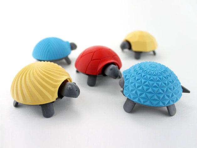 Squishy Turtle by jakejake - Thingiverse