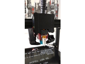 D-Bot Carriege wires cover