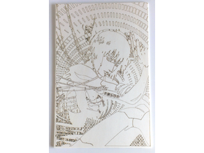 Ghost in the Shell: Major Kusanagi Engraving