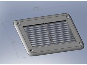 grille de ventilation - ventilation grid