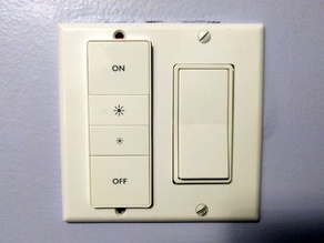In-wall Hue Dimmer Mount