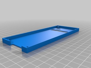 LCD screen case for Prusa i3 pro x
