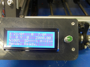 Gadgets 3D LCD Mount for MendelMax
