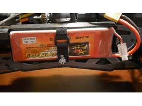HPI Savage X 4.6 Electric Conversion Battery Tray