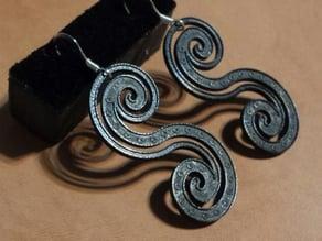Paisley Curves Earrings