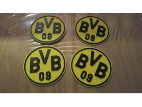 BVB Borussia Dortmund Drink Coaster / Beermat