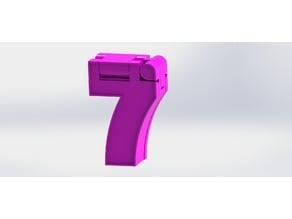 Number Robot - #7