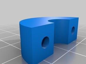 Hypercube Shaft Endstops