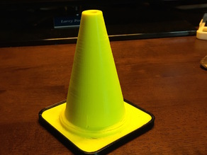 Traffic Cone for F1 Racer
