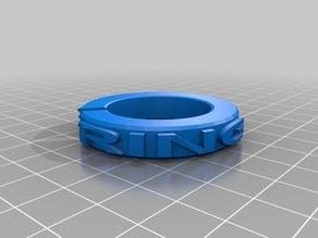 RING PIECE (Filament spool retainer) 30mm