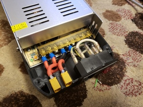 30A power supply cover with XT60