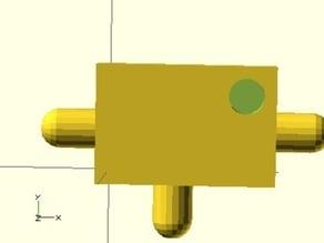 Fluidic Air NOT and NOR logic gates