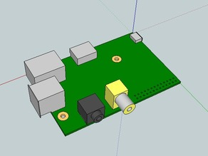 Raspberry Pi for Sketchup