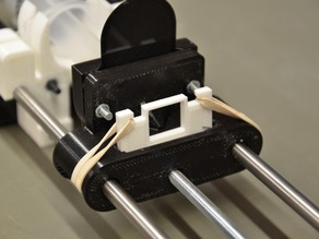 Modified Open Source Syringe Pump Parts