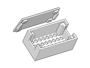 Relay Enclosure (1 Channel Optocoupler)