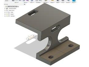 LapMonitor holder for Xray XB4
