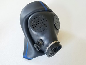 Pepper pot Israeli gas mask covers