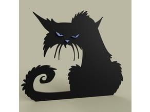 Grumpy Cat alone