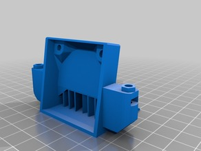 Extruder Fan Duct for Replicator 1 / Duplicator 4 / FlashForge