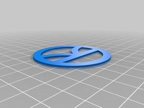 Kingsman logo for 3d modeling