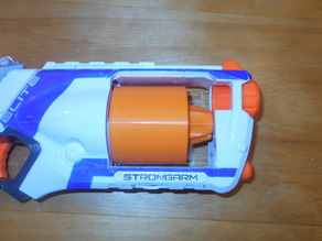 Strongarm 9-dart cylinder with lock