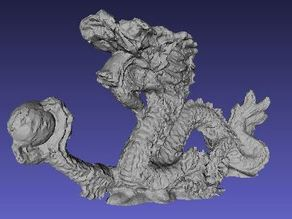 Scan Chinese Dragon