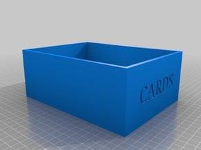 Playing Card Box (x20 sets)