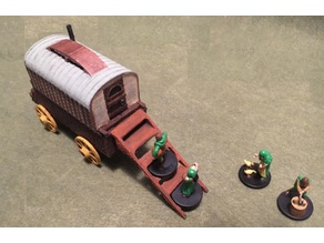 Miniature Gypsy Wagon