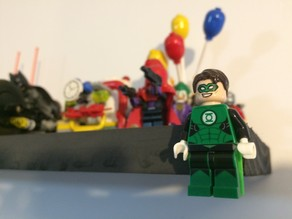 Lego Minifigure Wall Stand