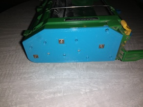 Brush Deck Side Gearbox Cover for the Roomba 5xx GREEN Series