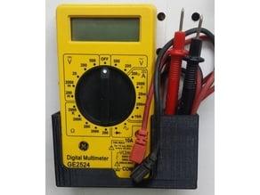 GE2524 Digital Multimeter wall holder