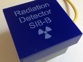 Geiger Tube SI8-B in G366 enclosure + guard