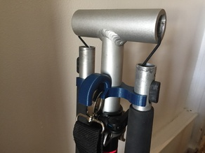 Handle holder for Oxelo Town 5EF scooter