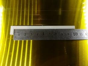Steps per mm calibration
