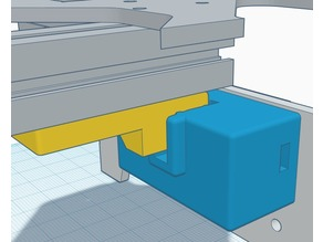 P3 Steel Y Bed Optical Stop Sensor Guide Mount Cover