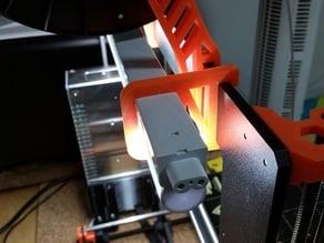 Rear Ramp LED holder for Prusa i3 MK2