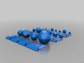 Platonic and Archimedean Solids with Baseboards