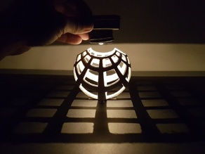 Stereographic Projection Lamp