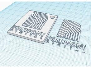 Polyphony Digital Logo + Keychain