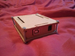Parametric arduino box for cnc router