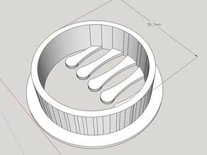 Desktop Hole Cable Holder v2