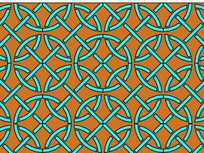3D Ceramic pattern template