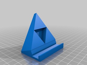 Triforce Smartphone Stand Revised