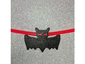 bat charm for glow stick