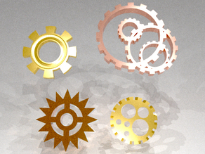 Decorative Steampunk Gears